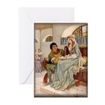 Galahad & Guinevere Note Cards (10)