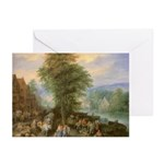 Peasants on Market Day Note Cards (10)