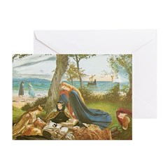 King Arthur in Avalon Note Cards (10)