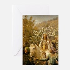 Queen Guinevere 'The Maying' Cards (Pk of 10)