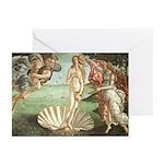 The Birth of Venus Cards (Pk of 10)