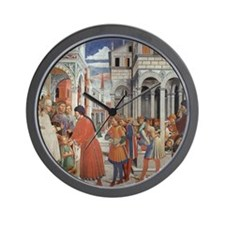 The School of Tagaste Wall Clock