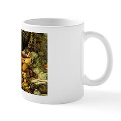 Medieval Vegetable Vendor Mug