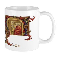 Medieval Scene Mug