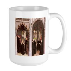 Healed Knight & Son at Monastery 1459 Mug