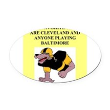 BALTIMORE.png Oval Car Magnet
