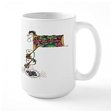 Renaissance Initial P Mug
