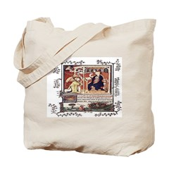 Medieval Psalter Tote Bag