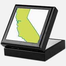 California State Shape Keepsake Box