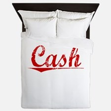 Cash, Vintage Red Queen Duvet