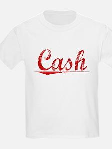Cash, Vintage Red T-Shirt