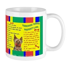 3-PROPERTY LAWS -Yorkie,PC Mugs