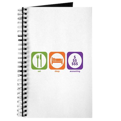 Eat Sleep Accounting Journal