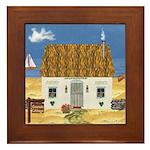 Seaside Cottage Framed Tile