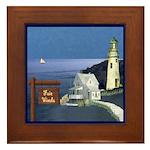 Fair Winds Cottage Framed Tile