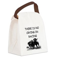 horse racing gifts Canvas Lunch Bag