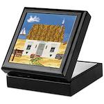 Seaside Cottage Keepsake Box