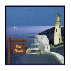 Fair Winds Cottage Ceramic Tile