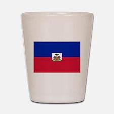 Flag of Haiti Shot Glass