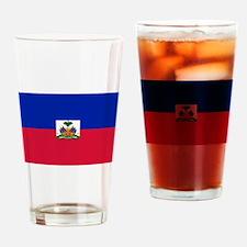 Flag of Haiti Drinking Glass