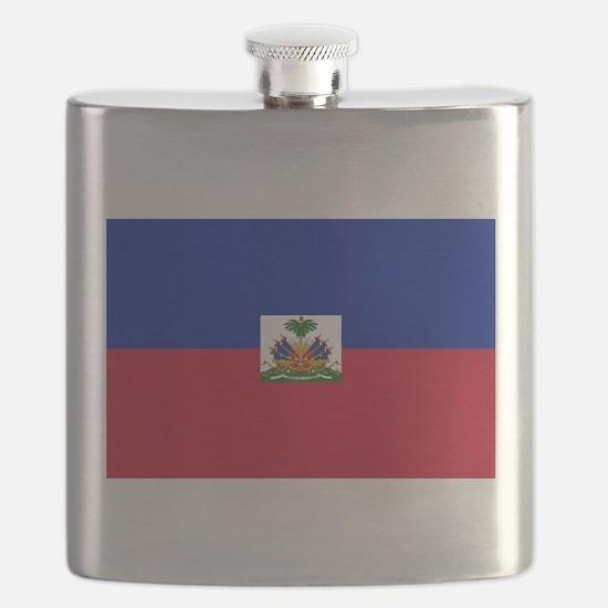 Flag of Haiti Flask