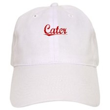 Cater, Vintage Red Baseball Cap