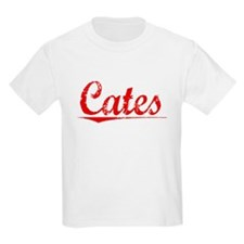 Cates, Vintage Red T-Shirt