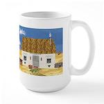 Seaside Cottage Large Mug