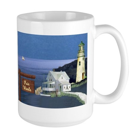 Fair Winds Cottage Large Mug