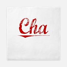 Cha, Vintage Red Queen Duvet
