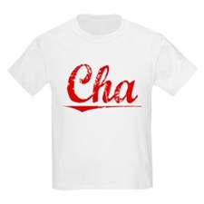 Cha, Vintage Red T-Shirt