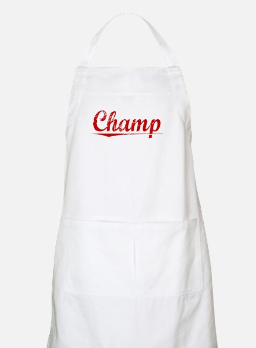 Champ, Vintage Red Apron