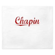 Chapin, Vintage Red King Duvet