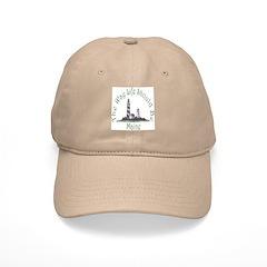 Maine State Motto Baseball Cap
