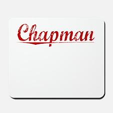 Chapman, Vintage Red Mousepad
