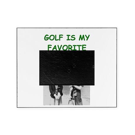 funny games player joke golf golfer Picture Frame