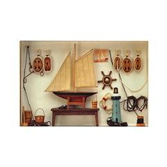 Nautical Scene Rectangle Magnet (10 pack)