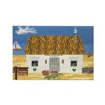 Seaside Cottage Magnets (10 pack)