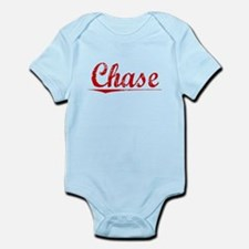 Chase, Vintage Red Infant Bodysuit