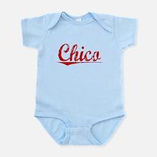 Chico, Vintage Red Infant Bodysuit