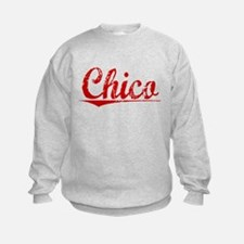 Chico, Vintage Red Sweatshirt