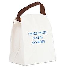 no divorce Canvas Lunch Bag