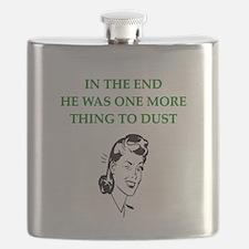 lazy husband divorce joke Flask