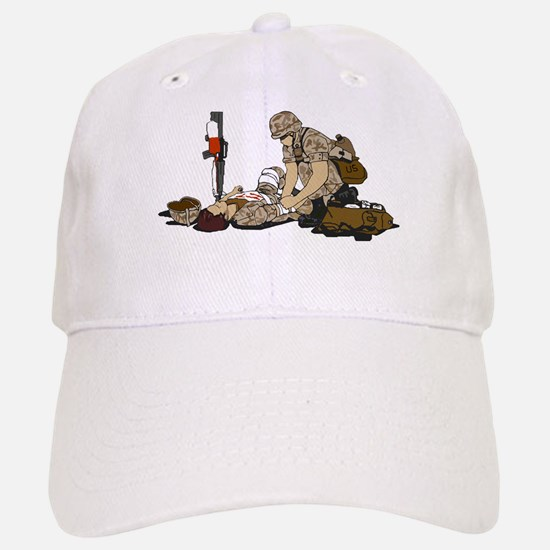 Wounded Warrior Support the Troops Baseball Baseball Cap