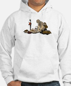 Wounded Warrior Support the Troops Hoodie