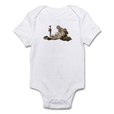 Wounded Warrior Support the Troops Infant Creeper