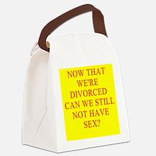 DIVORCED sex Canvas Lunch Bag