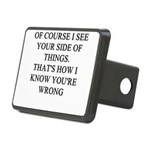 women are wrong Rectangular Hitch Cover