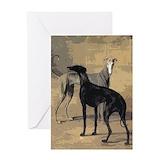 Greyhounds Greeting Cards