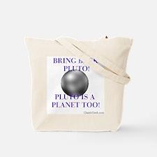 Pluto, ex-ninth Planet Tote Bag